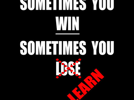 Off Season-Sometimes You Win, Sometimes You Learn