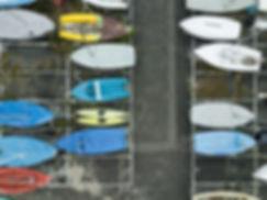 Bateaux de l'Aviron Cercle Nautiques Annecy