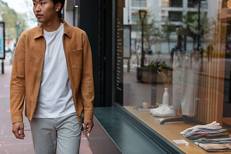 Suede Zip Shirt Our Legacy Camel, Perfect Tee Our Legacy, Chino High A.P.C.