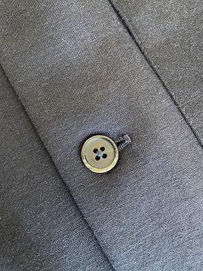 Veste Barena Morbio en laine et coton, Coupe droite, Marine