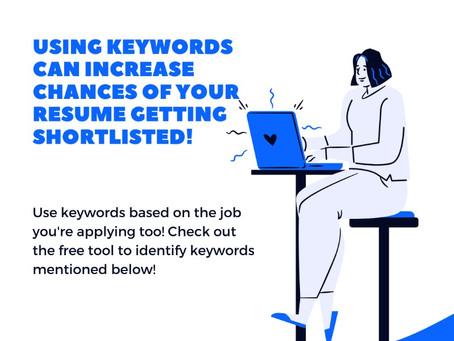 Do keywords on my resume really matter?