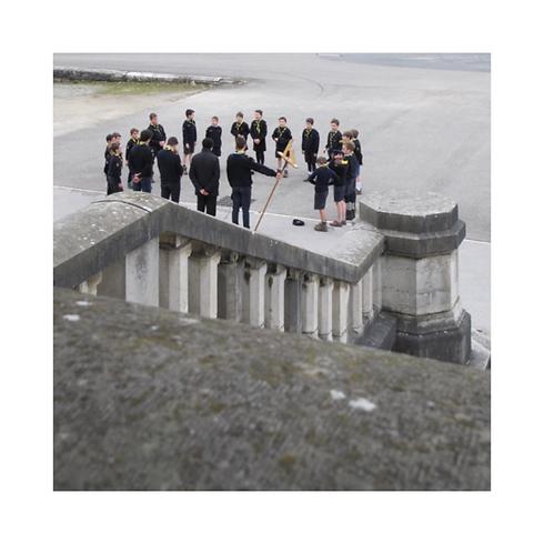 Rassemblement scouts à la visittion d'Annecy.