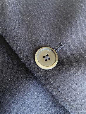 Veste en laine Barena Frare, 3 boutons, Marine