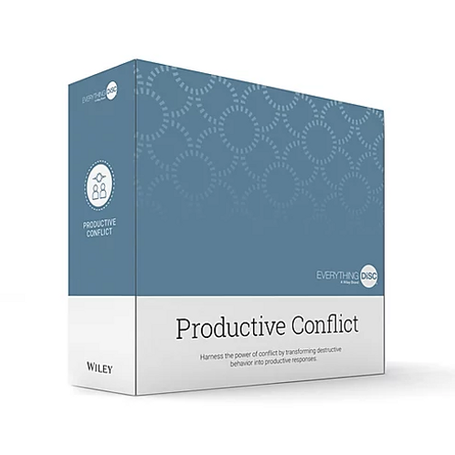 Everything DiSC© Productive Conflict Facilitation Kit
