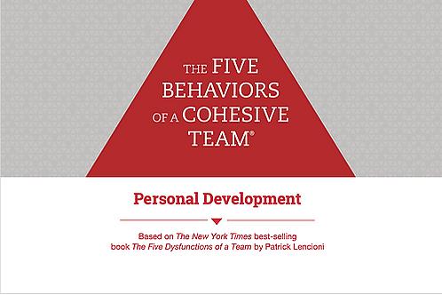 5 behaviours© Personal Development Profile