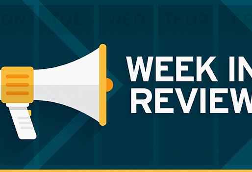 Week in Review 8/21