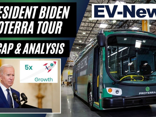 President Biden tours EV Company ProTerra | Recap