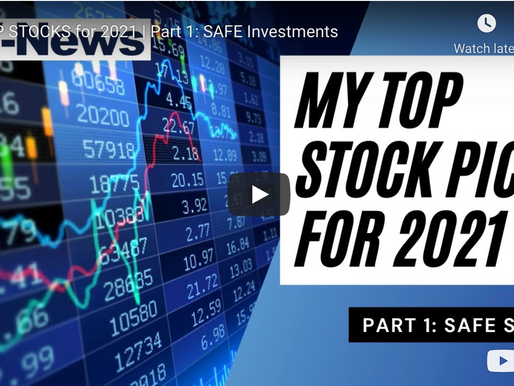 TOP Stocks for 2021 - Safe Investments