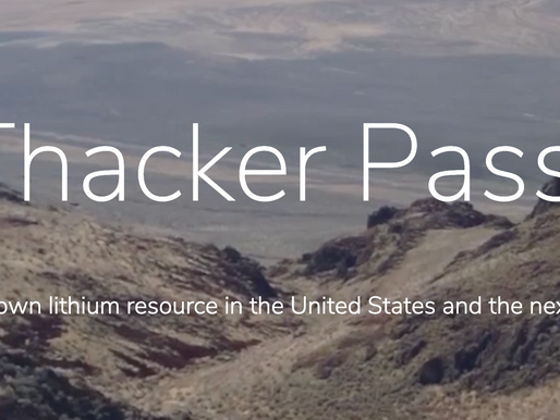 Should the United States Mine Thacker Pass, Nevada?