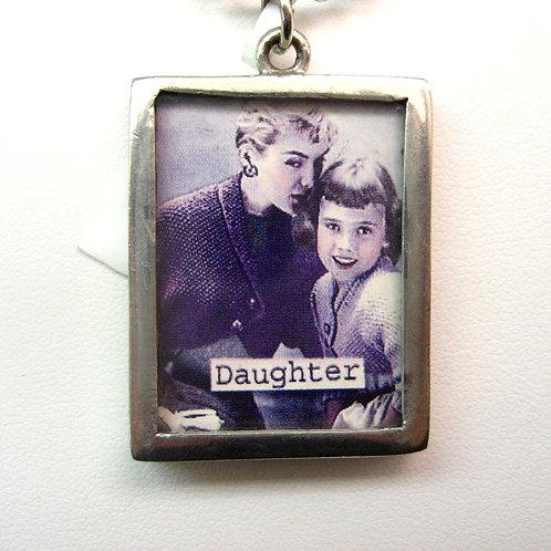 reversible Daughter pendant