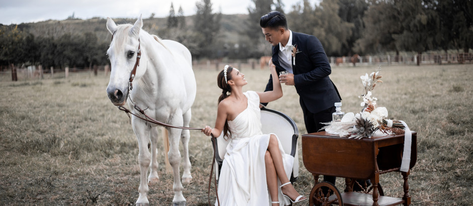 Pearl at Kawailoa Ranch Styled Shoot, Oahu HI