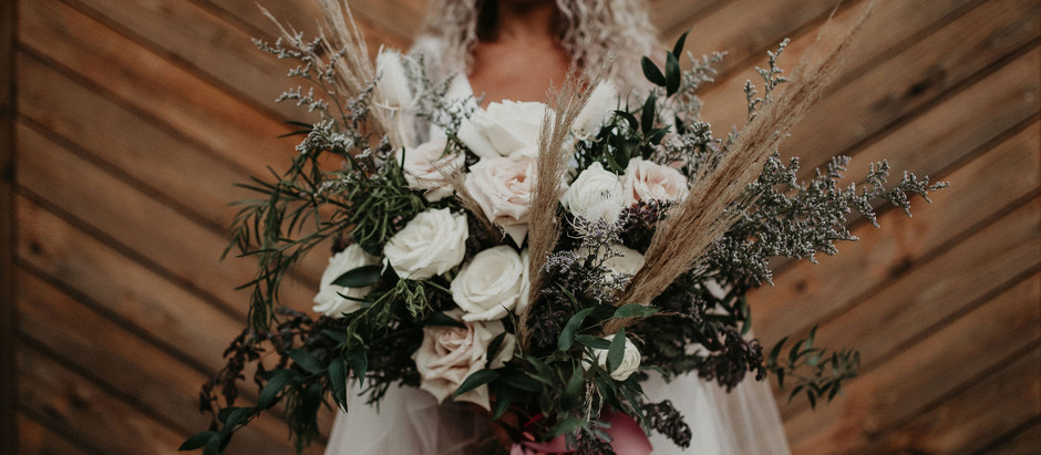Boho Alternative Wedding Idea