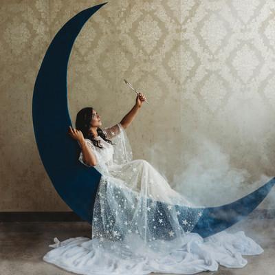 Starry Dress Rental Styled Shoot
