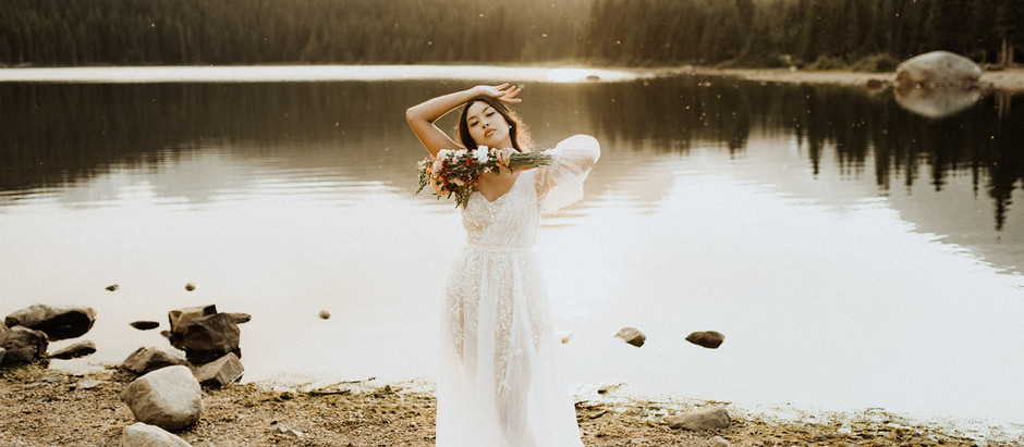 Lakeside Bridal Photos with Eleanor