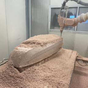 CNC Frezen met robot