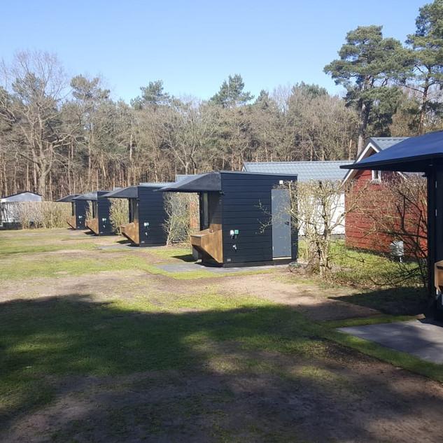 Privitary privésanitair op camping
