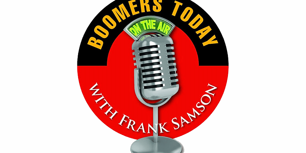 """""""Grieving our Pandemic Losses"""" on Boomers TodayPodcast& Radio Show"""