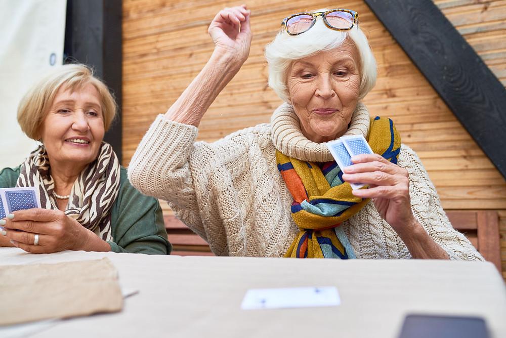 Elders-enjoying-a-game-of-cards-together