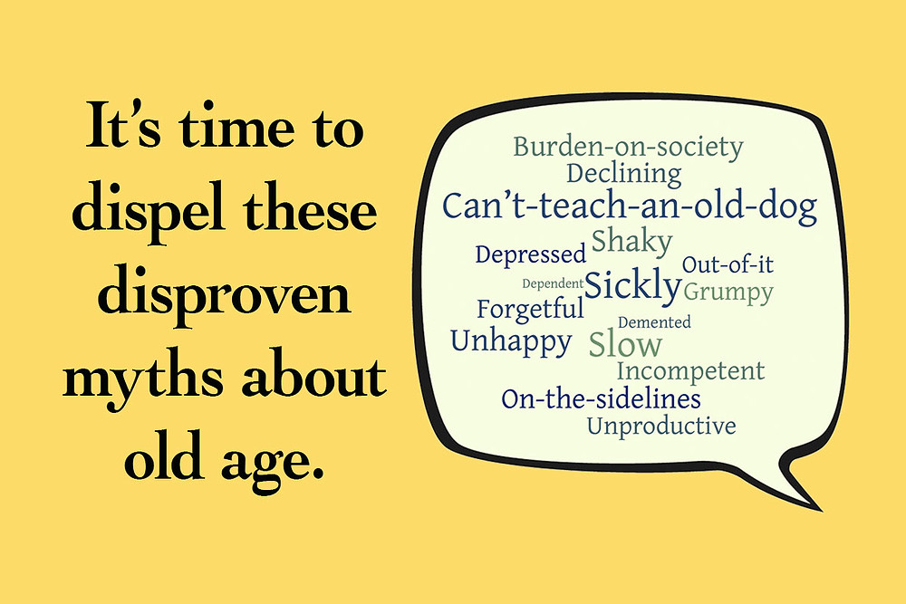 Words used to describe what it means to be old