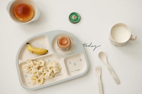 Rainy- Bamboo+Corn Kids Dinner Set <Ver.1>