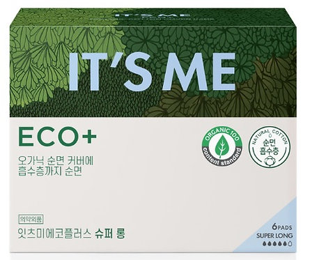 Eco Plus - Organic Cotton Pad: Super long