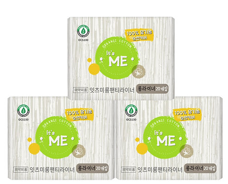 It`s Me- Organic Cotton Long Panty Liner-3pk