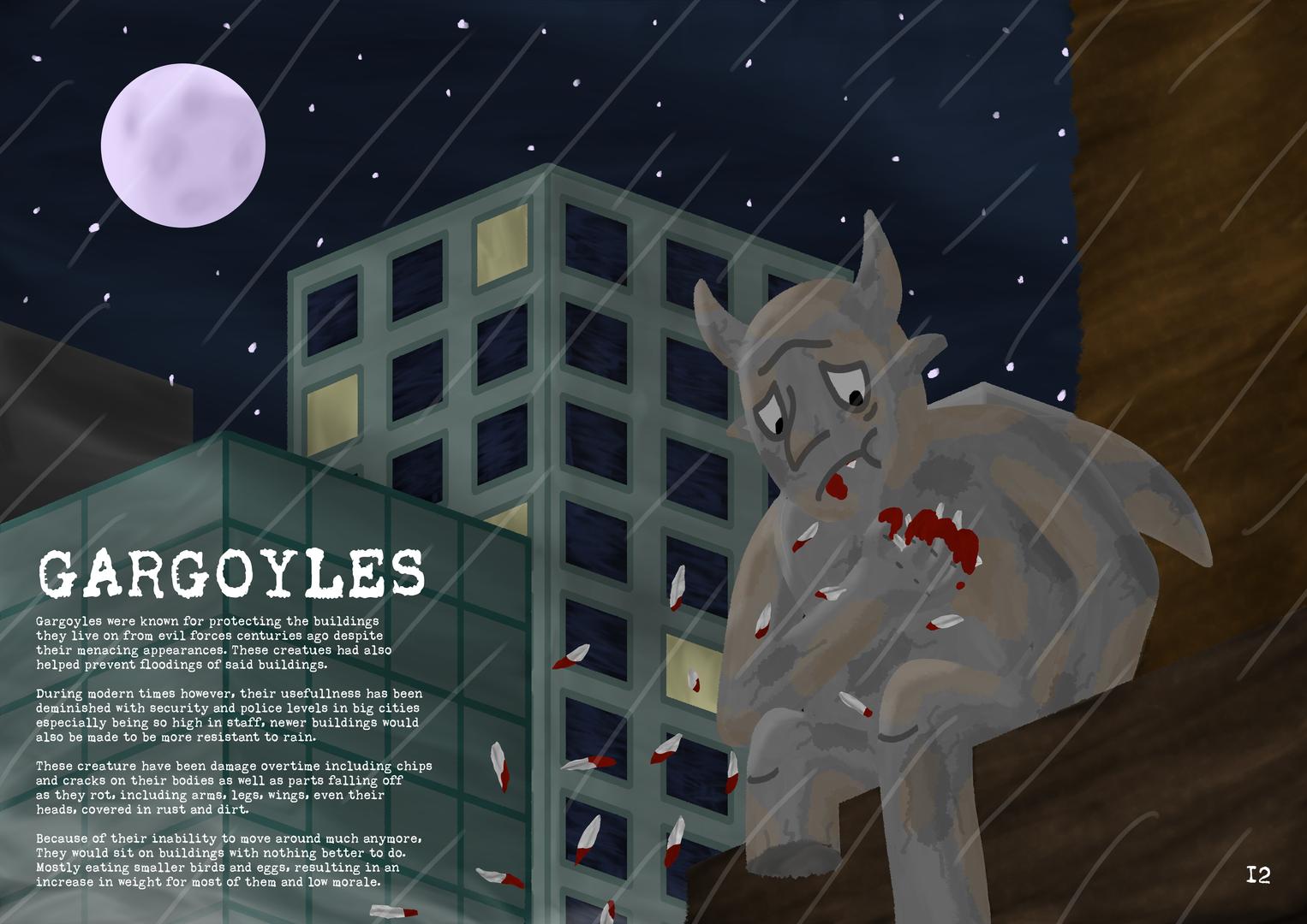 Gargoyle Magazine Page