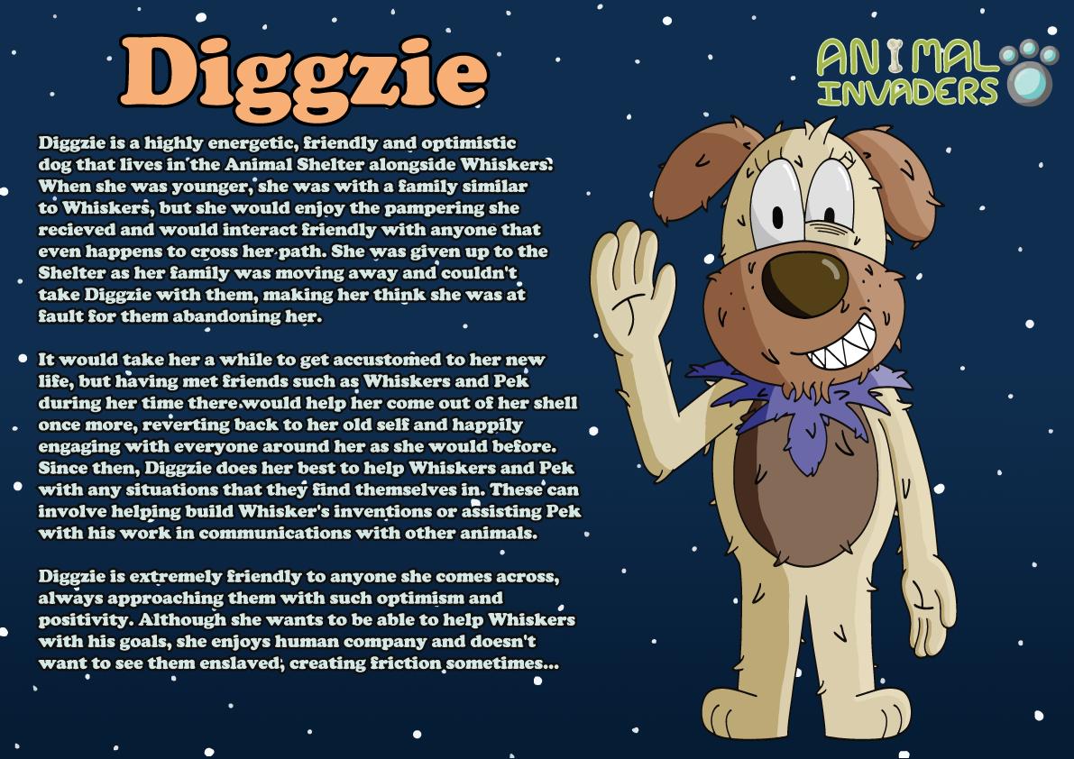 Character Description Sheet (Diggzie)