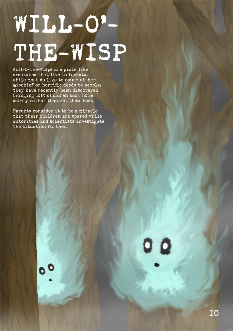 Will-O-The-Wisp Magazine Page