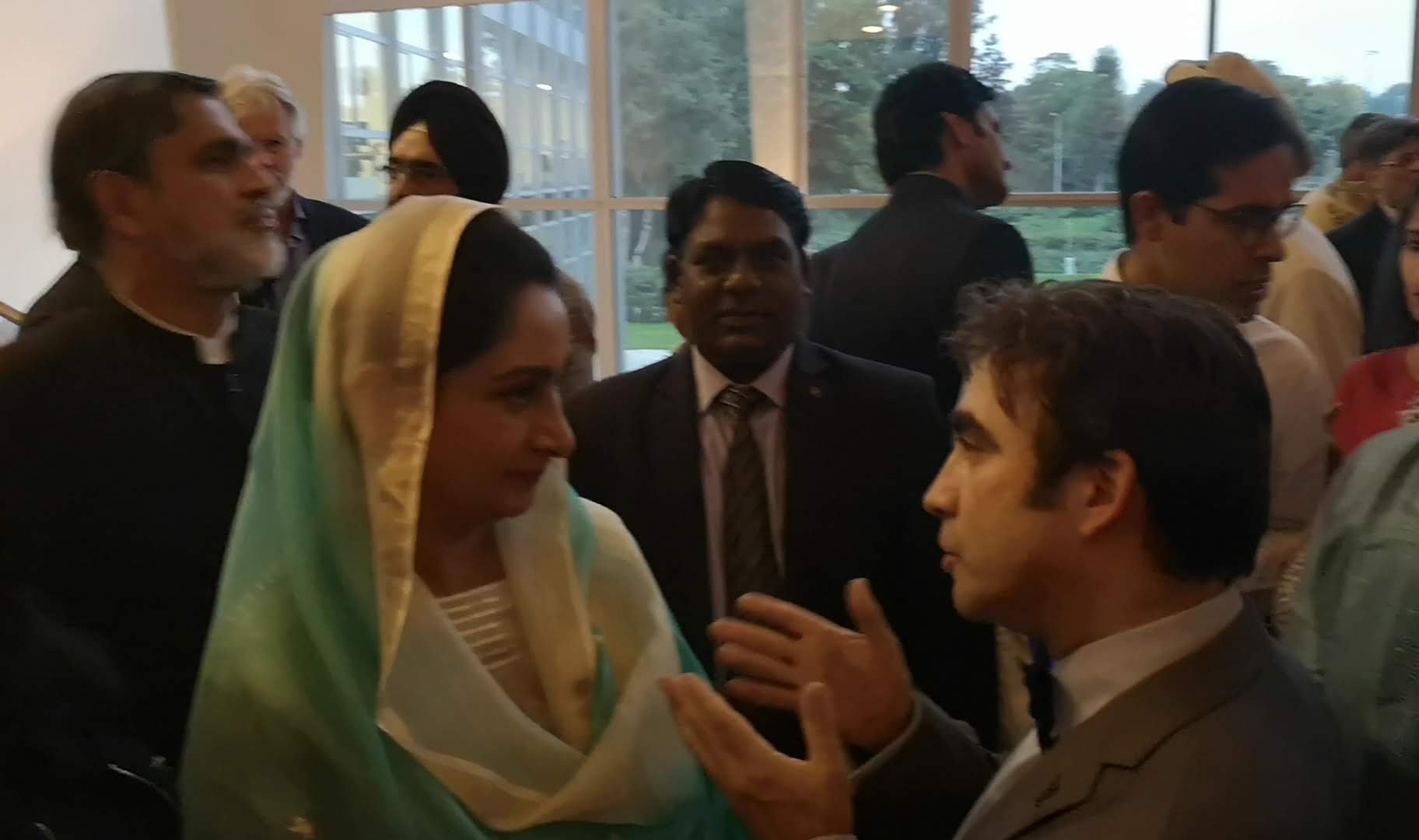 With Indian Ambassadors