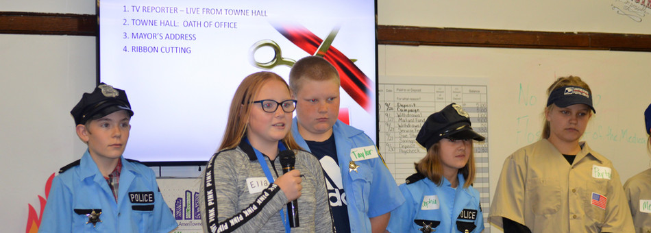 Towne Hall - Opening Ceremonies - Young AmeriTowne of Kansas
