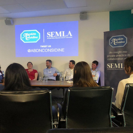 SEMLA and Aberdein Considine: An insight into private practice