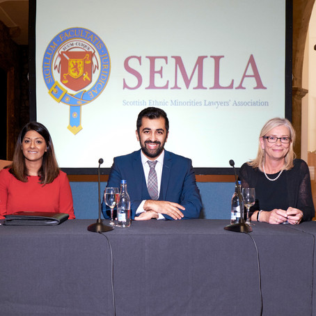 SEMLA and Faculty of Advocates: First Anniversary and Lord Hope Scholarship Event