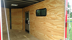 Inside view of Polar Crib