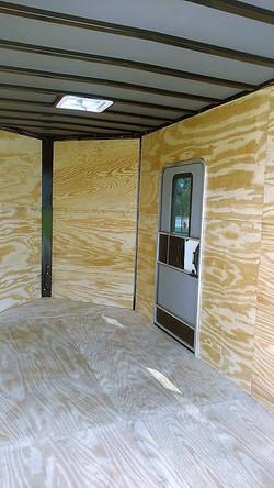 Inside view of Walk-Thru door