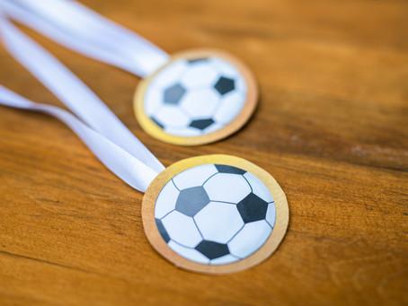 DIY - Fußballmedaillen basteln