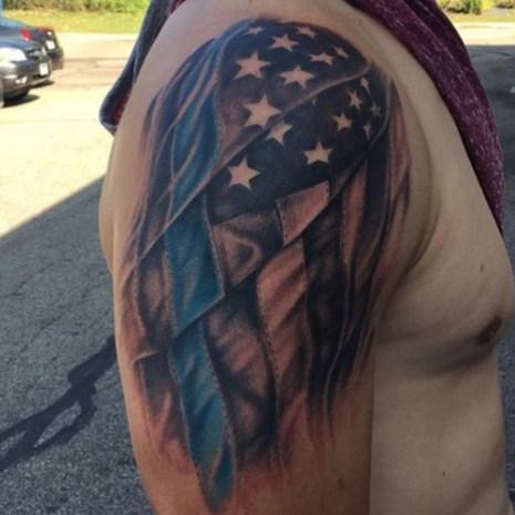 American Flag Tattoo