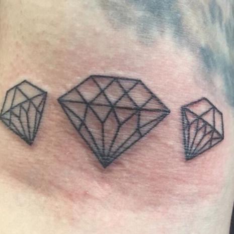 Diamond Small Tattoo