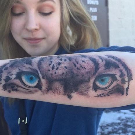 Eye Arm Tattoo