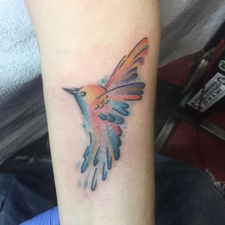 Hummingbird Small Tattoo