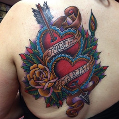 Unique Heart Design Tattoo