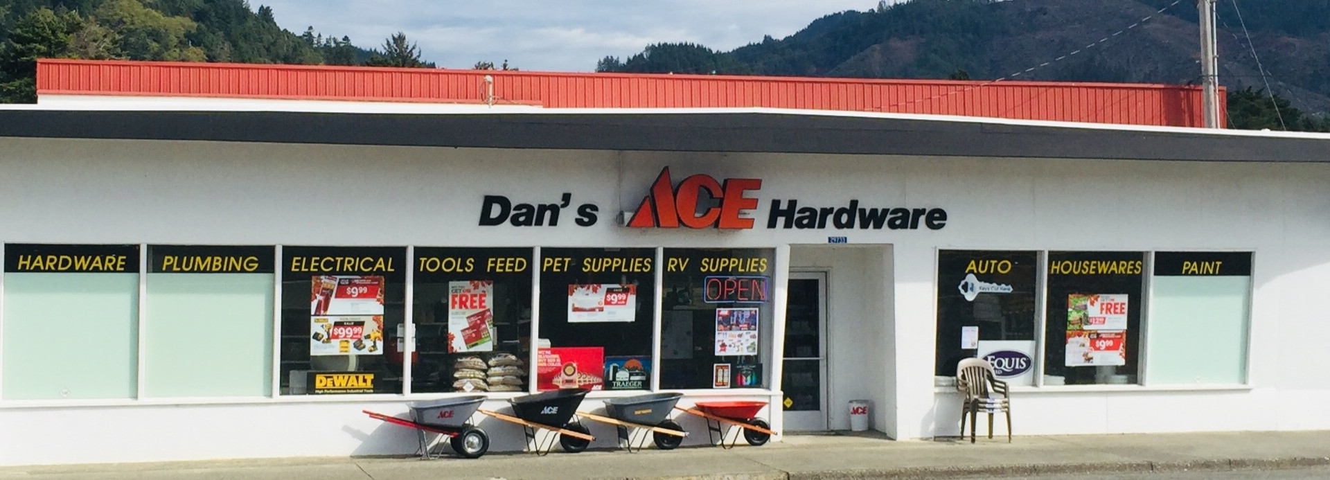 Dan's Ace Hardware After Project Completion