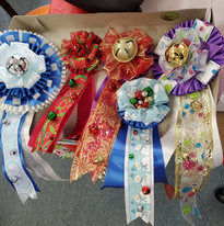 Ribbons for Youth Art Competition made by Laura Duvall