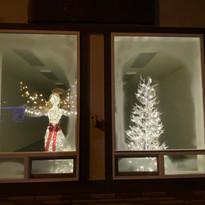 Window display at Gold Beach Village Center