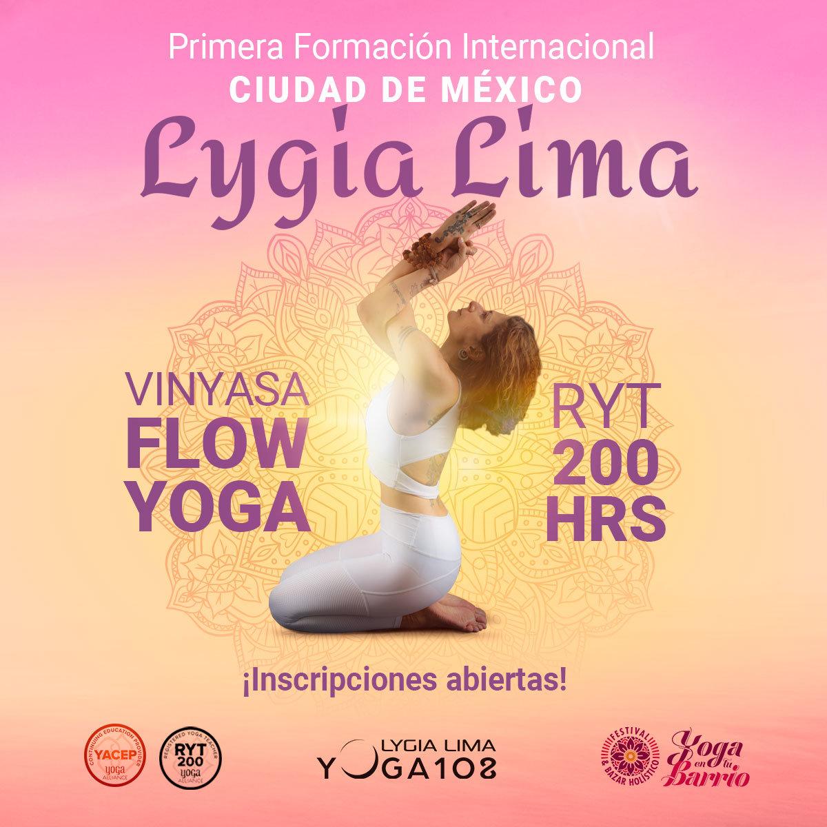 Formación Vinyasa Flow Yoga 200 hrs