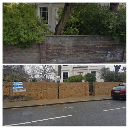 Before and after in Stockwell Sw9 close to Clapham SW4 and Sw12