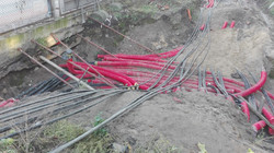 Geodezyjna obsługa budowy stacji GPZ, RPZ oraz podstacji trakcyjnych