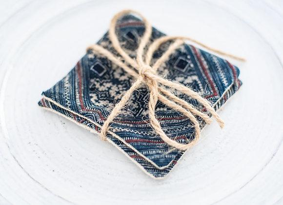 Batik Coasters - Set of 2