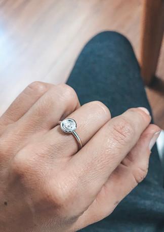 Ring 'Stamped'