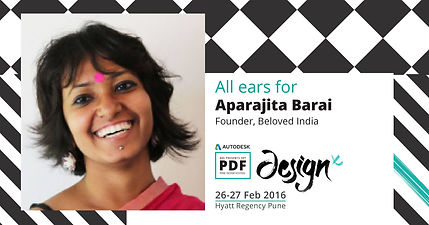 Speaker at Pune Design Festival, 2016